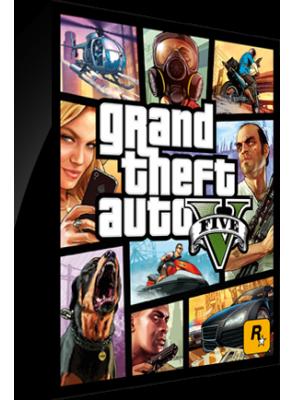 Grand Theft Auto V Cover Art