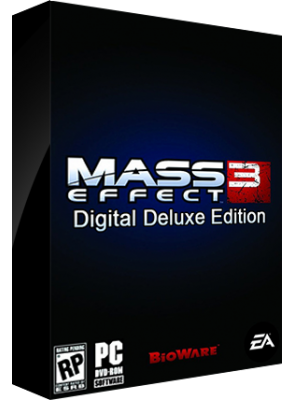 Mass Effect 3 Digital Deluxe Edition Retail Box